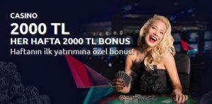 Bahisnow Casino Bonusları